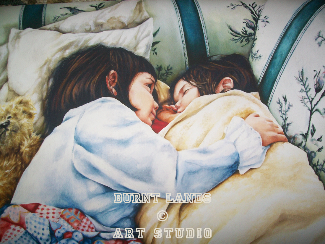 A Sister\'s Loving Embrace